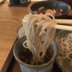 江戸前蕎麦 薫庵 - なかなか美味いです、そば香はそれほど感じません(2019.6.12)
