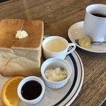 109521919 - ブレンドコーヒー440円とサイコロトーストのモーニング