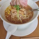 頂湯 sora - 料理写真:味噌ラーメン チャーチュートッピング