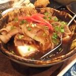 大衆酒場 文太 - ぶっかけ肉豆腐