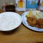 まるた - ザンギ定食(¥550)