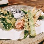 109536162 - 『夏野菜の天ぷら盛り合わせ』様(1300円)
