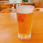 かびら食堂 - 「オリオン生ビール(500円)」