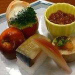 鮨いづ - 前菜。