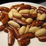 清水甘納豆 - 柿ピーナッツ。ピーナツ多めです!