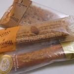 レ・フィーユ  - レ・フィーユの焼き菓子3種