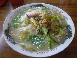 丸正ラーメン - 野菜ラーメン500円