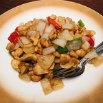 銀座夜市 - 鶏肉カシューナッツ炒め