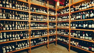ワインショップ&ダイナー FUJIMARU - ワインセラー