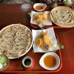あすき - 料理写真:天ざる¥1,620&天ざる(大盛り)¥1,944