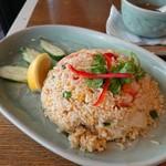 タイの食卓 オールドタイランド - カオ・パット・クン / エビ入りあっさりチャーハン