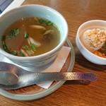タイの食卓 オールドタイランド - スープ  生春巻