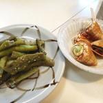郷土料理 かずみ - 巻貝と野菜