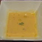 10955736 - つきだし(桜海老と白菜のあったかスープ)