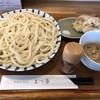 Matsuna - 料理写真:落花生汁うどん ver2019 並 800円 かしわ天 小 (3個) 380円