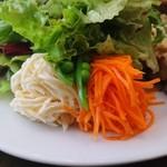 TROMPETTE - プレートには野菜がたっぷり(19-06)