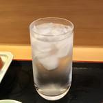 蛸八 - 芋水割り