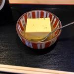 蛸八 - 玉子豆腐