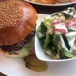 BROZERS' - ハンバーガー(サラダ)