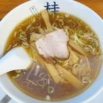 煮干しだし醤油ラーメン 桂 - 料理写真:ラーメン