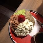 吾妻茶寮 - クワトロショコラ