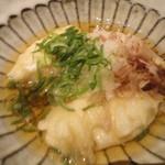 沖縄料理 金魚 - 揚げだしジーマーミ豆腐☆