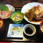 こじま - 『荒煮定食』も、オール1050円