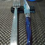 フェリチェリーナ - グラスと同じ色のナイフの柄