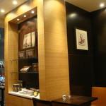 ラ・メゾン・デュ・ショコラ   - 2階カフェスペース