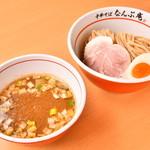 中華そば なんぶ庵 - 濃厚サバ豚骨つけ麺(限定メニュー)