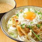 優勝軒 - 肉玉つけ麺