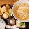 うどん居酒屋 麦笑 - 料理写真:賑わい天 あつかけ(950円)