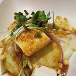 うどん市 - ◆「豆腐サラダ」