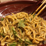 kinkatsu - 汁なし金胡麻担々麺