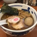 たけちゃんにぼしらーめん - 料理写真:
