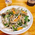 宝亭 - 料理写真:ニラレバ炒め