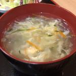 香福園 - スープはセルフ