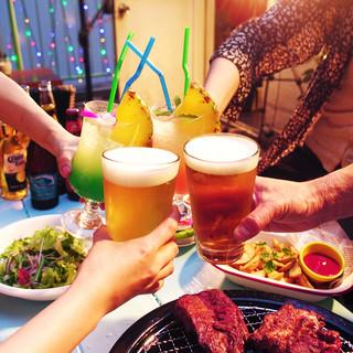 夏季限定!新宿の屋上でテラスBBQが楽しめる!!