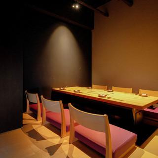 【素敵な個室空間】大切な人との時間をゆったりお過ごし頂けます