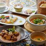 【土日祝限定!】ポルトガル料理を堪能!Wメインとデザート2種付き