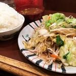 えぞ松 - 野菜炒め定食