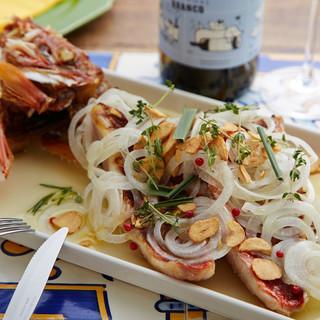 事前のご予約でお客様の為の鮮魚を「丸ごと」調理します!