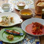 【平日限定!】ポルトガル料理を堪能!Wメインとデザート付き