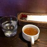 PIZZA BAR 裏秋葉原 - ランチのスープ