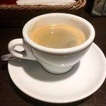 PIZZA BAR 裏秋葉原 - 食後にお願いしたコーヒー