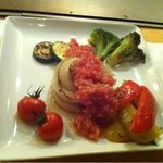 鉄板焼ダイニング AGITO - カラフルな野菜焼き(^^)