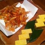 10959304 - コース料理のひとつ。前菜2種盛り。