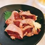 109590714 - 鶏レバー刺身(税込230円)