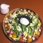 109596440 - 「農園リーフの特製シーザーサラダ」1,050円