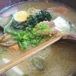花のや - 特選 山海ラーメン(塩) 950円(税込)